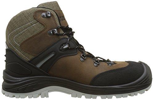 Beta Tools 7294NB Knöchelhohe Schuhe aus Nubukleder, Braun, 46EU