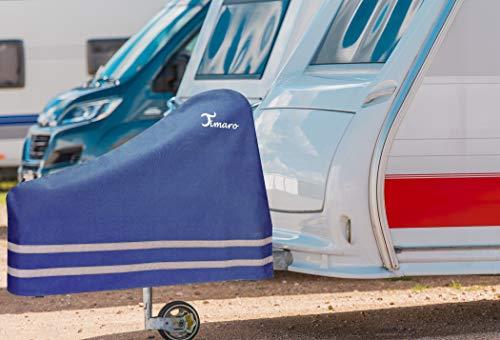 TIMARO universal Deichselhaube schwarz   Deichselabdeckung Deichselschutz für Anhänger XL Deichselhülle für…