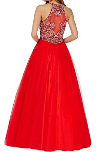 sunvary Fancy Bead Recepción de rollo de tul quinceañera Prom Vestido para Sweety–�?6 morado