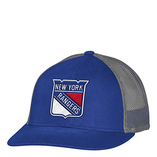 adidas New York Rangers NY Men s Trucker Hat NHL Meshback Cap e87e13dc6a1b