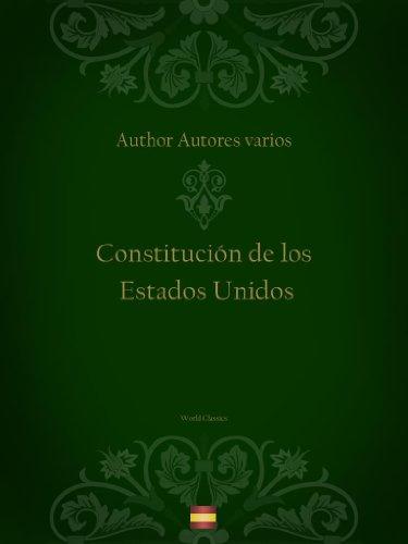 Descargar Libro Constitución De Los Estados Unidos Autores Varios