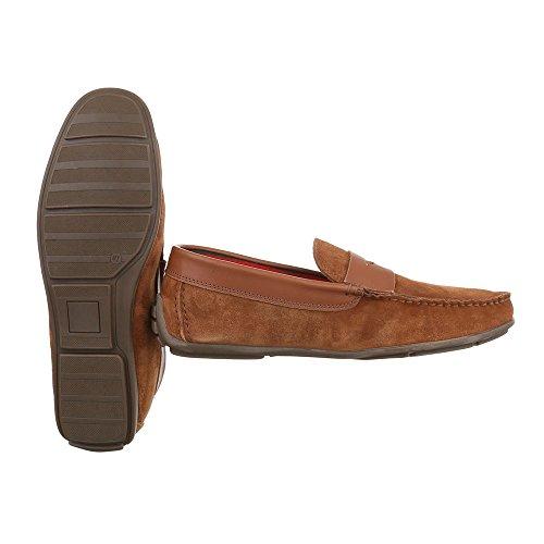 Hombre marrón Design Ital claro Cerrado wqA41xqS