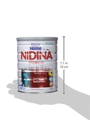 Nestlé NIDINA 1 BIO - Leche para lactantes en polvo vio certificada por la UE - Fórmula Para bebés - Desde el primer día - 800g: Amazon.es: Alimentación y ...