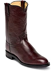 Justin Mens Roper 10in Leather Boots