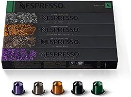 Nespresso Capsules OriginalLine,Ispirazione Best Seller Variety Pack, Medium & Dark Roast Espresso Coffee, 50 Count...