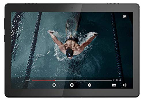 Lenovo Tab M10 HD Tablet (10.1 inch, 3GB, 32GB, Wi-Fi + 4G LTE), Slate Black