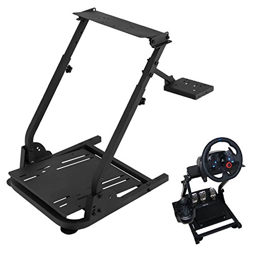 Price comparison product image VEVOR G920 Racing Steering Wheel Stand Pro Shifter Mount Logitech G27 / G25,  G29 Gaming Wheel Stand ThrustmasterWheel Pedals NOT Included Racing Wheel Stand (G29 / G920 / G27 / G25)