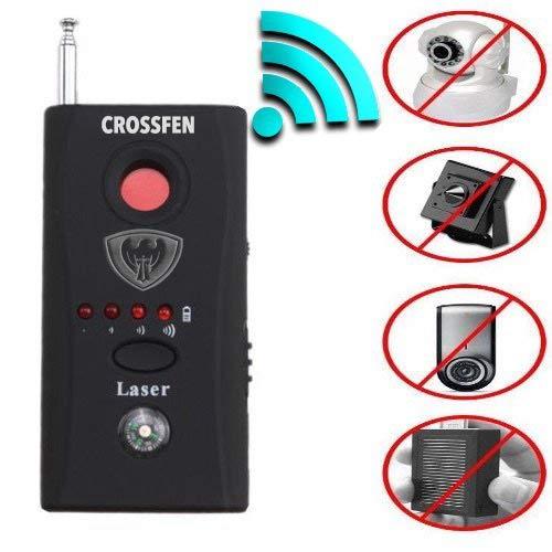 Crosffen Rf Detector - Camera Detector - Bug Detector - Security Camera Detector - Anti-Spy Hidden Camera Laser - Spy Camera Detector - Hidden Camera Detector - Hidden Camera Laser Lens GSM Finder