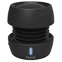 iHome iBT72BYC Bluetooth Rechargeable Mini Speaker System