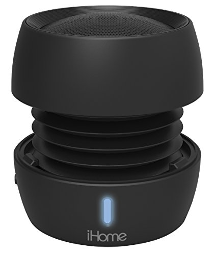 iHome Bluetooth Rechargeable Mini Speaker System - Black