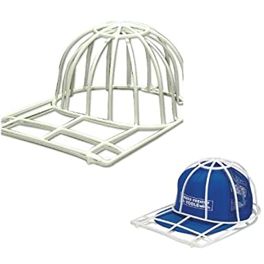 Ballcap Buddy Cap Washer-Hat Washer-The Original Patented Baseball Cap Cleaner Cage endorsed by Shark Tank- Made in USA  2-Pack