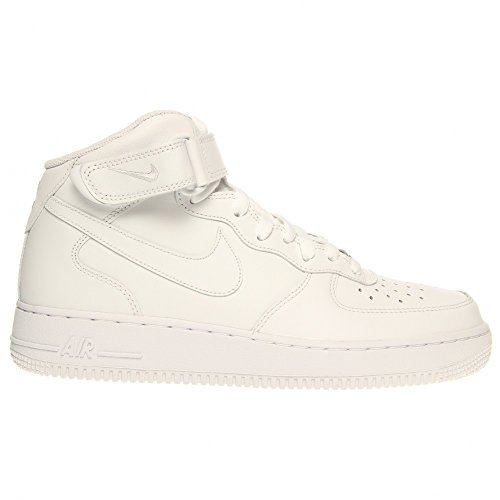 111 315123 07 Nike Air Uomo 1 Force Mid Alte Wht Sneakers 41 1ttwIzqA
