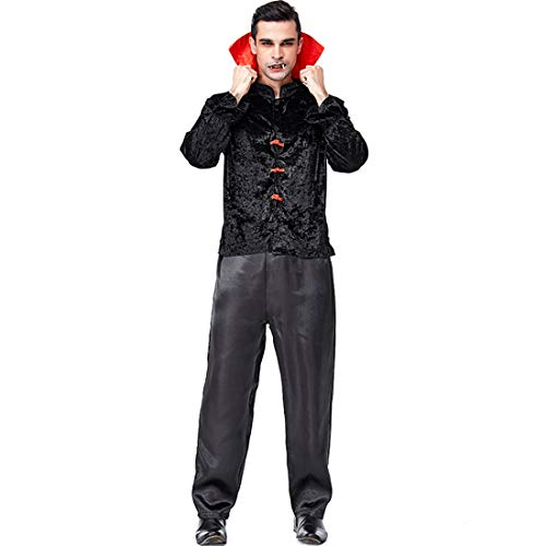 Halloween Party Carnival Chinese Style Men's Vampire Role-Playing COS -