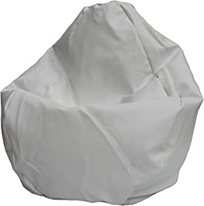 Amazon Com Bean Bag Boys Marine Bean Bag Premium White