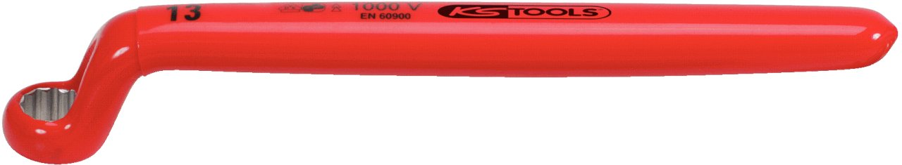 KS Tools 117.1313  Insulated ring spanner offset 13mm