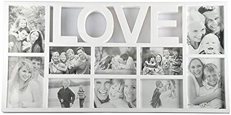 3D Marco De Fotos, Portaretratos Collage de fotos Collage Blanco ...