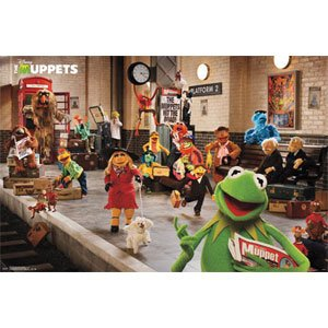 Muppets Most Wanted Movie Poster - Platform Art Print