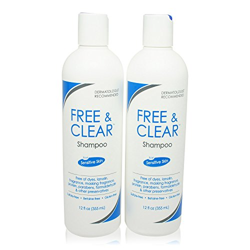 (Pharmaceutical Specialties Free and Clear Shampoo 12 oz. (Pack of 2))