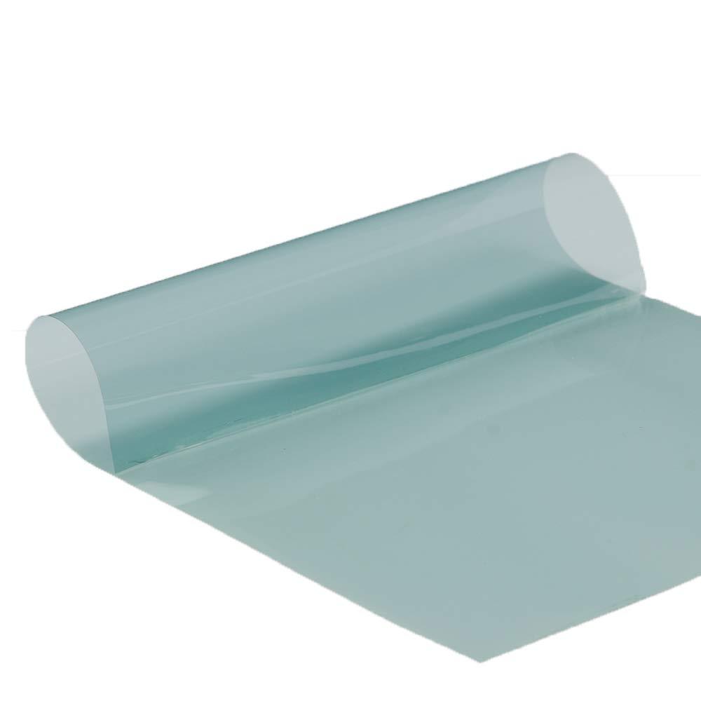 HOHO VLT 75% Nano Ceramic Car Protection Light Blue Window Tint Solar Film Anti Glare for Car Windshield Front Rear Window 50CMX600CM