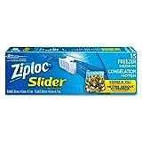 Ziploc Freezer Slider Bags - Medium - 15 Count