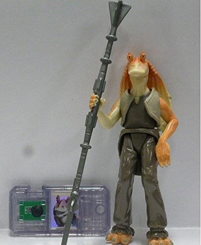 Star Wars Episode 1 Comtech Figure Jar Jar Binks (Japan Import)