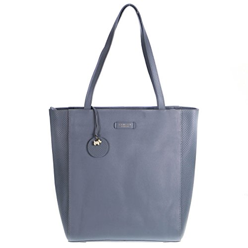 Leather Radley Radley Tote Longacre Bag Large Blue Longacre 4xfXxv
