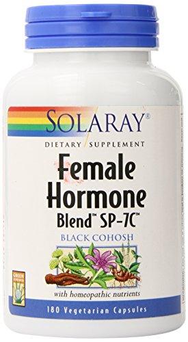 Solaray Female Hormone Blend SP-7C Capsules, 180 Count