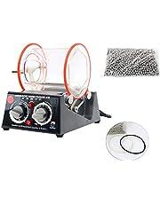 YaeTek 3kg Rotary mini Tumbler Surface Polisher Jewelry Polishing Finishing Machine (3KG/6.6LB)