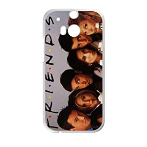 ZXCV Friends Cell Phone Case for HTC One M8