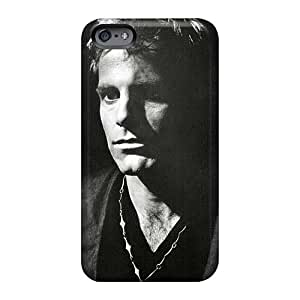 JohnPrimeauMaurice Iphone 6 Shock Absorption Cell-phone Hard Covers Provide Private Custom Nice Massive Attack Band Pattern [jZx1486vTWm]