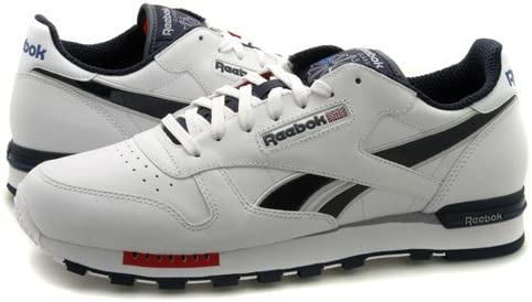 reebok leather trainers mens - 65% OFF