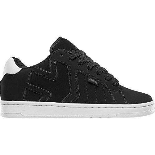 Etnies Men Metal Mulisha Fader 2 Skateboarding Shoes Black/White