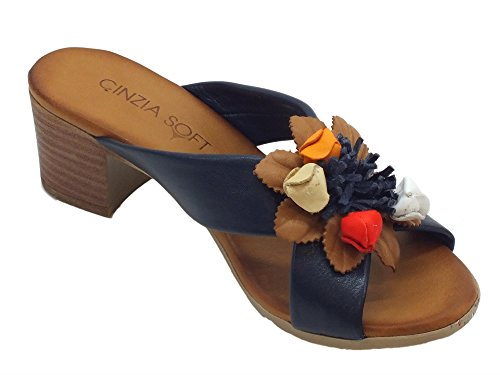 Cinzia Soft Sandals Women's Fashion Blue qZxHRqr