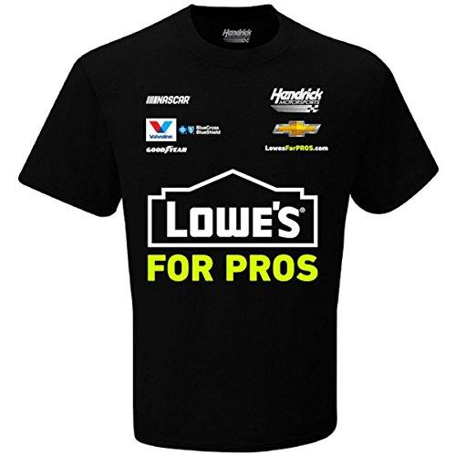 (Checkered Flag Men's 2018 NASCAR Uniform Sponsor T-Shirt-Jimmie Johnson)