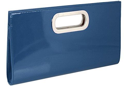 Size femme Emmy Gris Shop One EU Bleu pour Pochette Hellgrau w00PSpCq