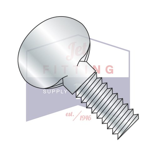 6-32X1/4 Thumb Screws | Type P | No Shoulder | Steel | Zinc (QUANTITY: 3000) by Jet Fitting & Supply Corp