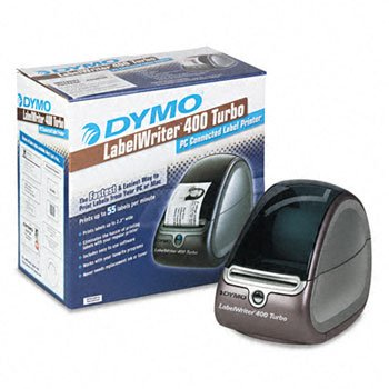DYMO® LabelWriter® 400 Turbo PC Connected Label Printer LABELMAKER,LW400 TUR,BKSR