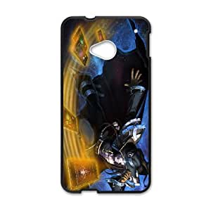 HTC One M7 Cell Phone Case Black Twisted Fate league of legends KYS1084488KSL