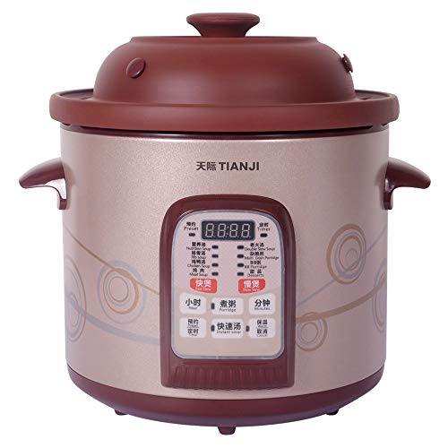 TianJi Purple Clay Stew Pot Slow Cooker Healthy Cooker DGD40-40SWD - Slow Stew