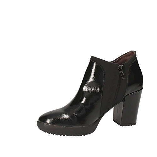 3 Women's Heels Platform Oprah Black Naplack Stonefly ExS0qBCwq