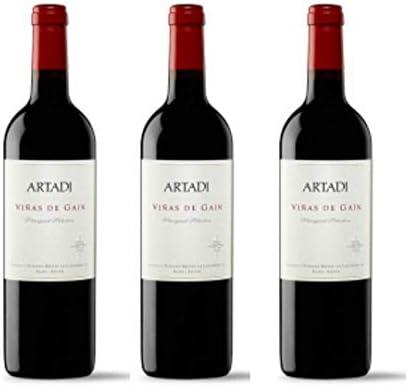 Artadi Viñas de Gain Vino tinto - 3 botellas x 750ml - total: 2250 ml