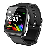 DAWO Fitness Tracker, Waterproof Big Color Screen Activity Tracker with Heart Rate Monitor Watch, Fitness Watch with Calorie Counter Pedometer Sleep Blood Pressure Monitor for Kids Women Men