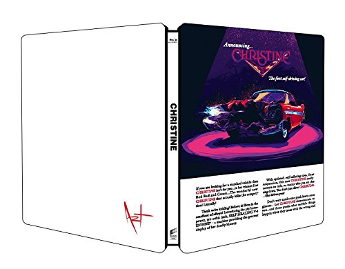 Stephen King Christine Steelbook Edition Blu Ray + Collectible Car 1967 Camaro Hot Wheels Entertainment Project Pop Art Exclusive Limited Edition