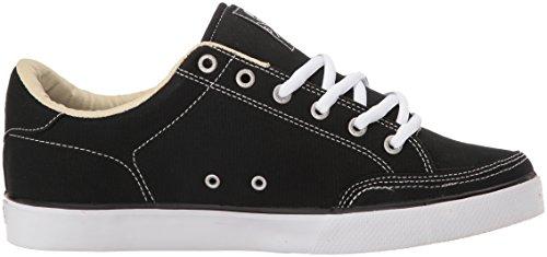 C1RCA Lopez 50Sneakers Unisex, per Adulti, Nero (Schwarz (Black Canvas/White)), 41 EU
