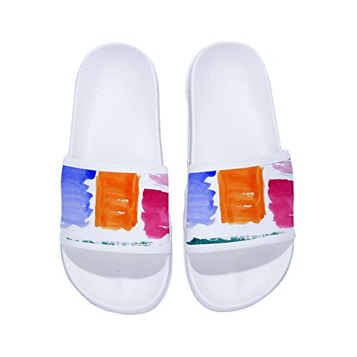 Womens Non Brush Slip for Drying Quick Watercolor Buteri White Slippers Slippers nqgxztf