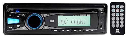 Dual XDMA450 Single-Din in-Dash Car CD Receiver Stereo iPhone/MP3/USB/AUX+Remote ()