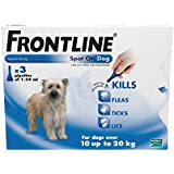 Frontline Spot On Med Dog 10kg - 20kg 3 Pipettes