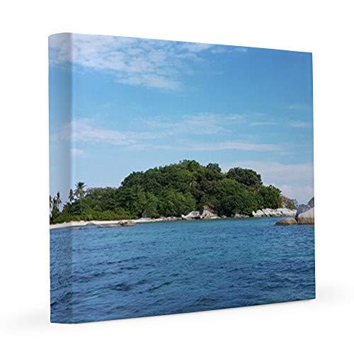 CafePress 11 Hopping Islands 8x8 Canvas Print