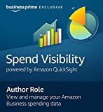Spend Visibility Author | 180-day free trial with $12.99/month auto-renewal after free trial | Business Prime Exclusive