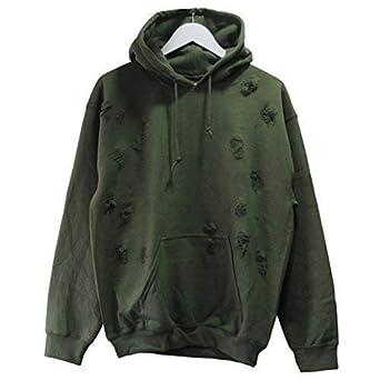 9Deuce Custom Distressed Crew Neck Sweatshirt Top
